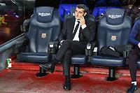 Ernesto Valverde <br /> 18/12/2019 <br /> Barcelona - Real Madrid<br /> Calcio La Liga 2019/2020 <br /> Photo Paco Largo Panoramic/insidefoto <br /> ITALY ONLY