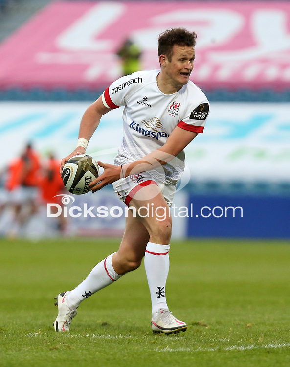 Friday 14th May 2021; Billy Burns during the Guinness PRO14 Rainbow Cup Round 3 clash between Leinster and Ulster at The RDS Arena, Ballsbridge, Dublin, Ireland. Photo by John Dickson/Dicksondigital