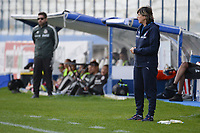 20190227 - LARNACA , CYPRUS : Italian head coach Milena Bertolini (right) pictured during a women's soccer game between Mexico and Italy , on Wednesday 27 February 2019 at the Antonis Papadopoulos Stadium in Larnaca , Cyprus . This is the first game in group B for both teams during the Cyprus Womens Cup 2019 , a prestigious women soccer tournament as a preparation on the FIFA Women's World Cup 2019 in France and the Uefa Women's Euro 2021 qualification duels. PHOTO SPORTPIX.BE | STIJN AUDOOREN