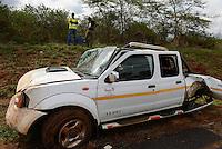 MOZAMBIQUE, Chitundo, car accident / MOSAMBIK, Chitundo, Autounfall