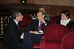 MAURO MORETTI CON PIERO FASSINO<br /> CELEBRAZIONE DEI 60 ANNI DELLO STATO D'ISRAELE TEATRO DELL'OPERA ROMA 2008