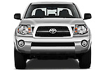 Straight front view of a 2011 Toyota Tacoma PreRunner Off Road Double Cab