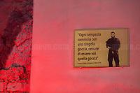 23.04.2021 - Una Targa Per Orso - A Plaque For Lorenzo Orsetti Who Died Fighting ISIS In North Syria