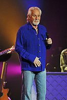 HOLLYWOOD FL - JANUARY 28 : Kenny Rogers (after Plastic Surgery)  performs at Hard Rock live held at the Seminole Hard Rock hotel & Casino on January 28, 2012 in Hollywood, Florida.<br /> <br /> People:  Kenny Rogers
