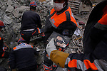 VAN, TURKEY: A photograph pulled from the rubble after a 7.2 magnitude earthquake hit eastern Turkey...On October 23, 2011, a 7.2 magnitude earthquake hit eastern Turkey killing over 250 people and wounding over a thousand...Photo by Ali Arkady/Metrography