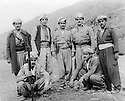 Iraq 197?.2nd right, Saber Barzani, 3rd Abdul Bari (Bawari ), sitting on the right Chicho.Irak 197?.Debout, 2eme a droite, Saber Barzani, 3eme, Abdul Bari ( Bawari ) et assis a droite, Chicho