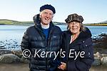 Finbar and Sofia Murphy enjoying a stroll in Dingle on Sunday.