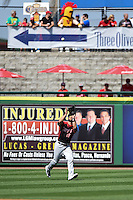 Tampa Spartans outfielder Stephen Dezzi (19) catches a fly ball during an exhibition game against the Philadelphia Phillies on March 1, 2015 at Bright House Field in Clearwater, Florida.  Tampa defeated Philadelphia 6-2.  (Mike Janes/Four Seam Images)