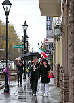 Residents walk along Carson Street during the Road to the Future celebration in downtown Carson City, Nev. on Friday, Oct. 28, 2016. <br /> Photo by Cathleen Allison