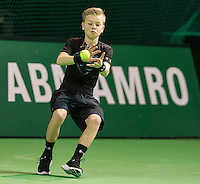 Rotterdam, The Netherlands, Februari 10, 2016,  ABNAMROWTT, Ball-Boy<br /> Photo: Tennisimages/Henk Koster
