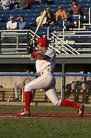 June 30, 2003:  Outfielder Alex Borgo of the Batavia Muckdogs during a game at Dwyer Stadium in Batavia, New York.  Photo by:  Mike Janes/Four Seam Images