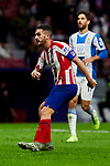 XXX of Atletico de Madrid and XXX of RCD Espanyol during La Liga match between Atletico de Madrid and RCD Espanyol at Wanda Metropolitano Stadium in Madrid, Spain. November 10, 2019. (ALTERPHOTOS/A. Perez Meca)