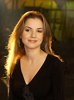 March 5th, 2002, Montreal, Quebec, Canada; <br /> <br /> Canadian (Quebec) Singer Gabrielle Des Trois Maison<br /> <br /> (Mandatory Credit: Photo by Sevy - Images Distribution (©) Copyright 2002 by Sevy<br /> <br /> NOTE :  D-1 H original JPEG, saved as Adobe 1998 RGB