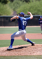 Evy Ruibal - Los Angeles Dodgers 2018 extended spring training (Bill Mitchell)
