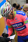 Adriano Malori (ITA) Lampre-Merida at the sign on before the start of the 104th edition of the Milan-San Remo cycle race at Castello Sforzesco in Milan, 17th March 2013 (Photo by Eoin Clarke 2013)