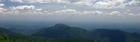 blue ridge mountains shenandoah overlook view