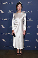 LONDON, UK. October 01, 2019: Cara Horgan at the Luminous Gala 2019 at the Roundhouse Camden, London.<br /> Picture: Steve Vas/Featureflash