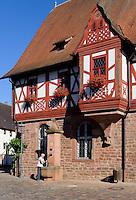 Altes Rathaus (1611/1612) in Großheubach am Main, Bayern, Deutschland
