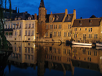 Evening reflections of Brugge