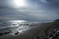 Paekakariki beach, New Zealand on Saturday, 23 May 2020.