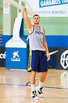 Player Xavi Rabaseda during the training of Spanish National Team of Basketball 2019 . July 26, 2019. (ALTERPHOTOS/Francis González)