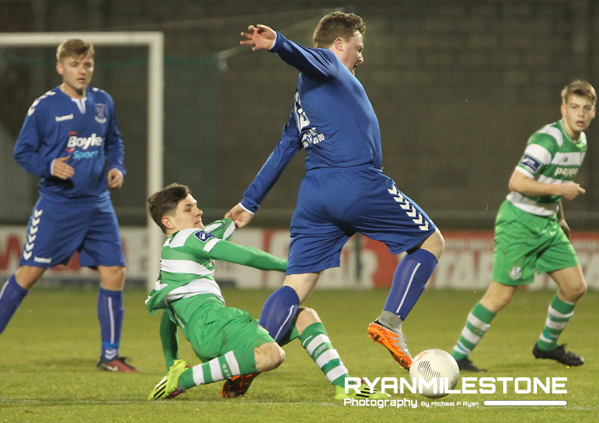 Leinster Senior Cup, Shamrock Rovers v Collinstown FC, Tallaght Stadium, Tuesday 22nd March 2016,