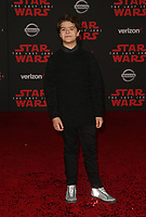 LOS ANGELES, CA - DECEMBER 9: Guest, at Premiere Of Disney Pictures And Lucasfilm's 'Star Wars: The Last Jedi' at Shrine Auditorium in Los Angeles, California on December 9, 2017. Credit: Faye Sadou/MediaPunch /NortePhoto.com NORTEPHOTOMEXICO