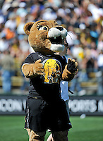 FC Gold Pride mascot. The Los Angeles Sol defeated FC Gold Pride, 2-0, at Buck Shaw Stadium in Santa Clara, CA on May 24, 2009.