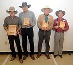 Award winners at the 2010 Ohio state Cowboy Shoot at the Piqua Fish & Game Club