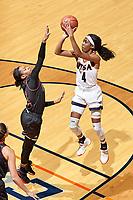SAN ANTONIO, TX - NOVEMBER 24, 2017: The University of Texas at San Antonio Roadrunners fall to the Northern Illinois University Huskies 69-55 at the UTSA Convocation Center. (Photo by Jeff Huehn)
