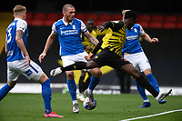 20th March 2021; Vicarage Road, Watford, Hertfordshire, England; English Football League Championship Football, Watford versus Birmingham City; Isaac Success of Watford with a chance on goal.