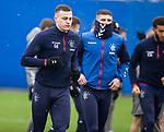 28.02.2020 Rangers training: George Edmundson