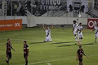 Campinas (SP), 14/08/2020 - Ponte Preta - Vitória-BA - Neto Moura comemora gol da Ponte Preta. Partida entre Ponte Preta e Vitória-BA pelo Campeonato Brasileiro 2020 da serie B, nesta sexta-feira (14), no Estádio Moisés Lucarelli, em Campinas (SP).