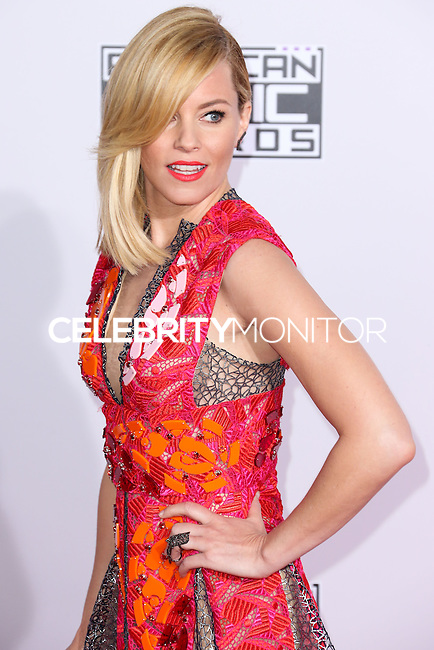 LOS ANGELES, CA, USA - NOVEMBER 23: Elizabeth Banks arrives at the 2014 American Music Awards held at Nokia Theatre L.A. Live on November 23, 2014 in Los Angeles, California, United States. (Photo by Xavier Collin/Celebrity Monitor)