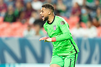 DENVER, CO - JUNE 6: Zack Steffen #1 of the United States during a game between Mexico and USMNT at Mile High on June 6, 2021 in Denver, Colorado.