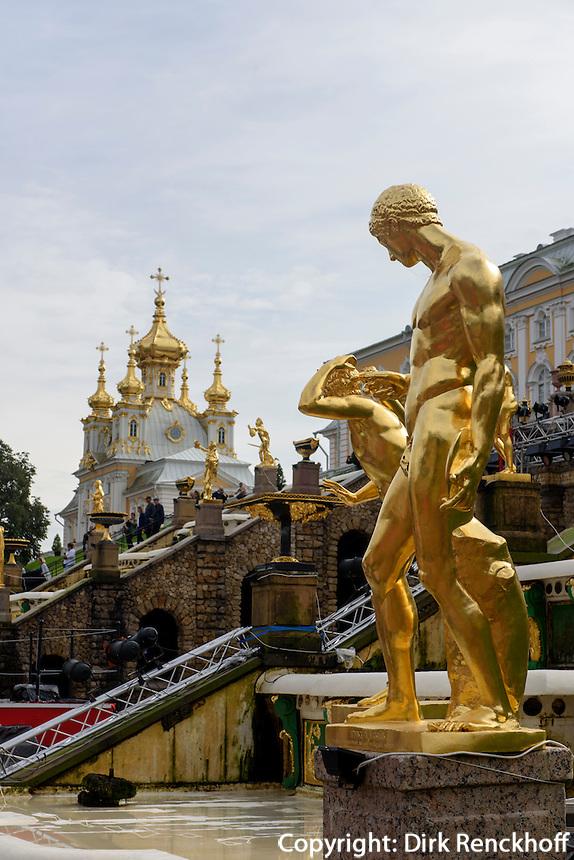 Großer Palast des Peterhof, St. Petersburg, Russland, UNESCO-Weltkulturerbe