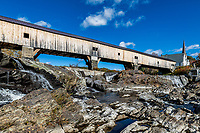 Bath Covered Bridge, Bath, New Hampshire, USA.