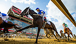 MAY 14, 2021: Willful Woman with Ricardo Santana races in the Black Eyed Susan Stakes at Pimlico Racecourse in Baltimore, Maryland on May 14, 2021. EversEclipse Sportswire/CSM