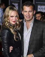 """HOLLYWOOD, CA - NOVEMBER 03: Molly Sims, Scott Stuber at the Los Angeles Premiere Of DreamWorks Pictures' """"Delivery Man"""" held at the El Capitan Theatre on November 3, 2013 in Hollywood, California. (Photo by Xavier Collin/Celebrity Monitor)"""