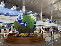 Flugplatz in Pyongyang, Nordkorea, Asien<br /> Airport in Pyonyang, North Korea, Asia