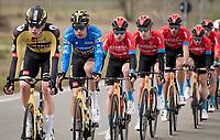 GC leader Wout van Aert (BEL/Jumbo-Visma)<br /> <br /> Stage 2 from Camaiore to Chiusdino (202km)<br /> <br /> 56th Tirreno-Adriatico 2021 (2.UWT) <br /> <br /> ©kramon