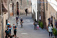 on their way to the start in Siena<br /> <br /> 104th Giro d'Italia 2021 (2.UWT)<br /> Stage 12 from Siena to Bagno di Romagna (212km)<br /> <br /> ©kramon
