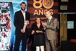 Jorge Garbajosa during the 80th Aniversary of the National Basketball Team at Melia Castilla Hotel, Spain, September 01, 2015. <br /> (ALTERPHOTOS/BorjaB.Hojas)