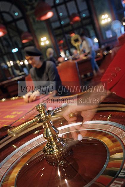 Europe/France/Normandie/Basse-Normandie/14/Calvados/Deauville: Le casino - Détail roulette