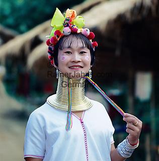 Thailand, Northern Thailand: Long-necked Tribeswoman | Thailand, im Norden: Long Neck Karen oder auch Giraffen(hals)frauen genannt