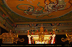 Tennyo Heavenly Maidens Mikoshi Sacred Spirit Palanquins Shinyosha Ceiling Honsha Central Shrine Nikko Toshogu Shrine Nikko Japan