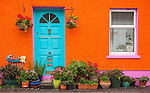 County Cork, Ireland: Mermaid cottage in the village of Kinsale