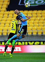 171223 A-League Football - Wellington Phoenix v Sydney FC