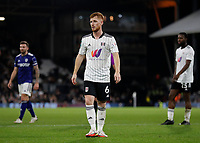 21st September 2021; Craven Cottage, Fulham, London, England; EFL Cup Football Fulham versus Leeds; Harrison Reed of Fulham