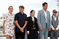 CANNES, FRANCE - JULY 15, 2021: Bree Elrod, Sean Baker, Suzanna Son, Simon Rex, Brittney Rodriguez at photocall for 'Red Rocket' during the 74th Cannes Film Festival held at the Palais des Festivals in Cannes, France.<br /> CAP/GOL<br /> ©GOL/Capital Pictures